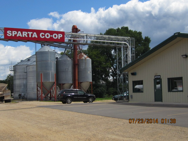 Sparta Coop Grain Prices